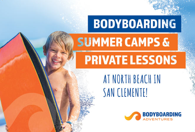 Bodyboarding Summer Camps and Private Lessons